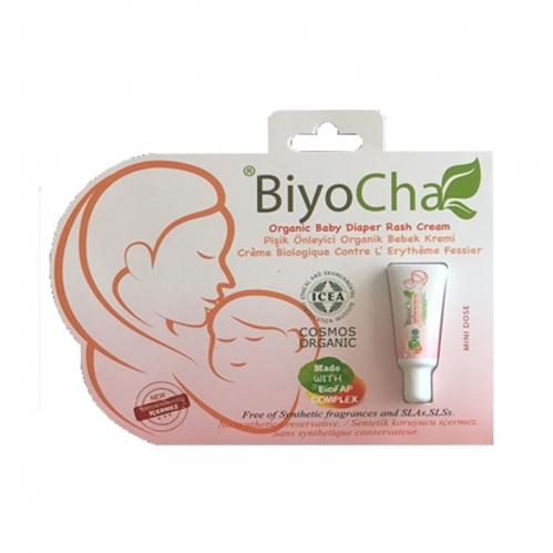 Biyocha - Biyocha Pişik Karşıtı Organik Bebek Kremi Mini Doz 5 ml