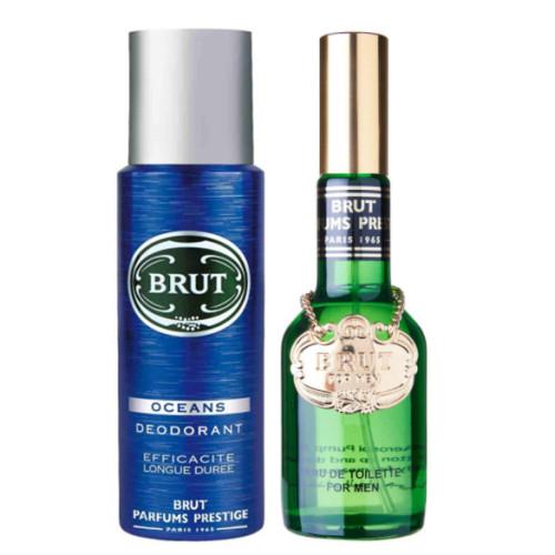 Brut - Brut Plexi EDT For Men 100ml + Deodorant 200ml HEDİYE