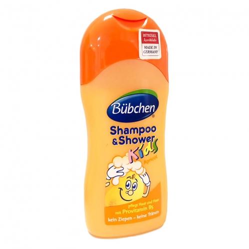 Bübchen - Bübchen Çocuk Şampuan ve Duş Jeli Kayısı 200 ml