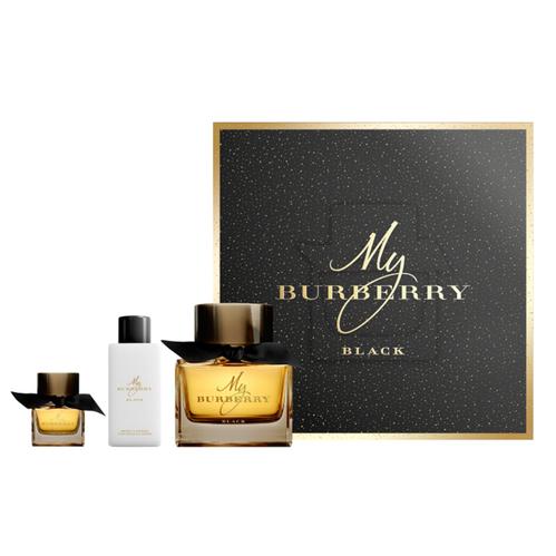 Burberry - Burberry My Burberry Black EDP Parfüm ve Vücut Losyonu Seti