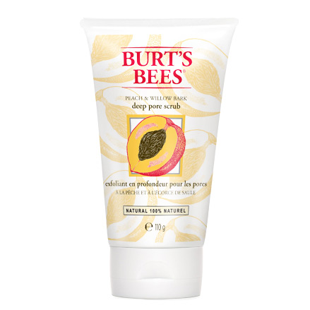 Burts Bees - Burt's Bees Peach & Willow Bark Deep Pore Scrub 110 ml