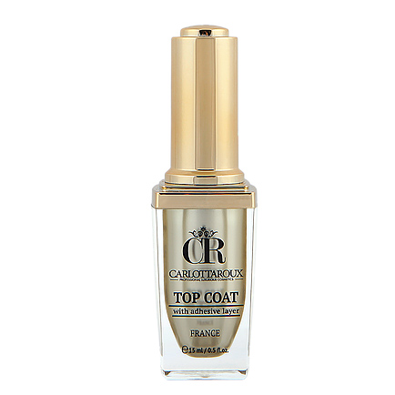 Carlottaroux - Carlottaroux Top Coat With Adhesive Layer 15ml