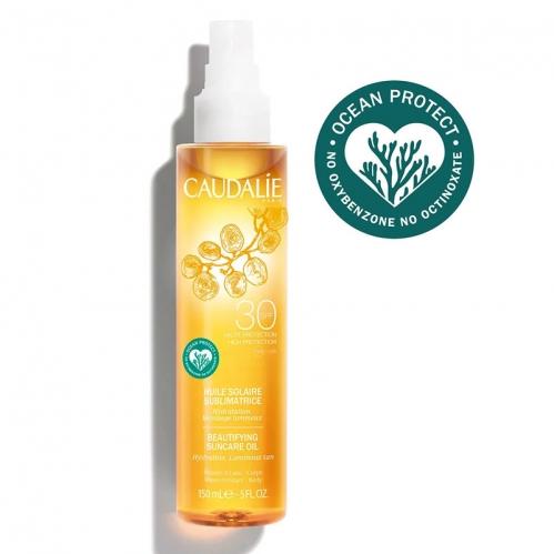 Caudalie - Caudalie Güzelleştirici Güneş Koruyucu Yağ SPF 30 150 ml