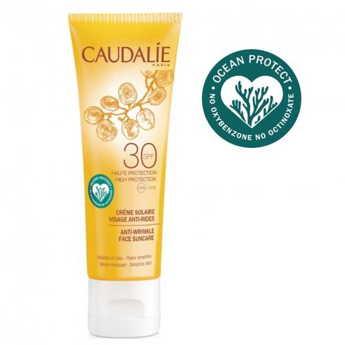 Caudalie - Caudalie Kırışıklık Karşıtı Güneş Koruyucu SPF30 Yüz Kremi 50 ml