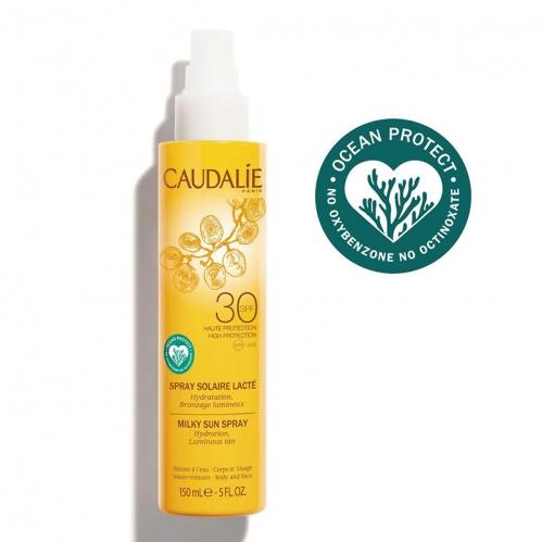 Caudalie - Caudalie Kırışıklık Karşıtı Güneş Koruyucu SPF30 Yüz ve Vücut Sütü 150 ml