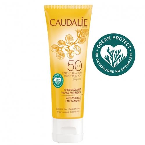 Caudalie - Caudalie Kırışıklık Karşıtı Güneş Koruyucu SPF50 Yüz Kremi 50 ml