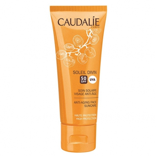 Caudalie - Caudalie Soleil Divin Spf50 Güneş Kremi 40ml YENİ