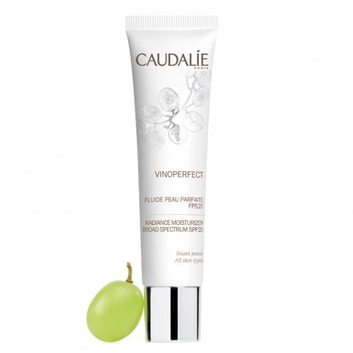 Caudalie - Caudalie Vinoperfect Day Perfecting Fluide 40ml Nemlendirici Gündüz Bakım Kremi spf20