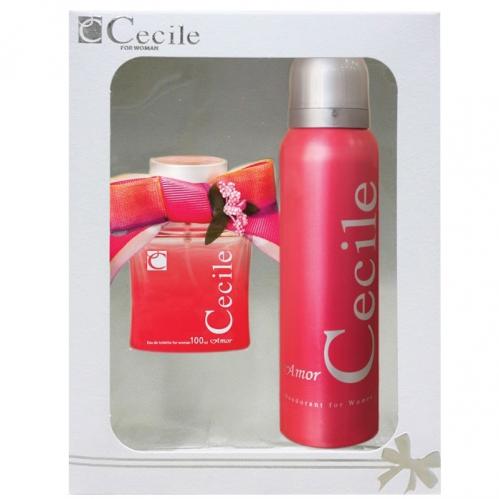 Cecile - Cecile Amor Parfüm ve Deodorant Seti