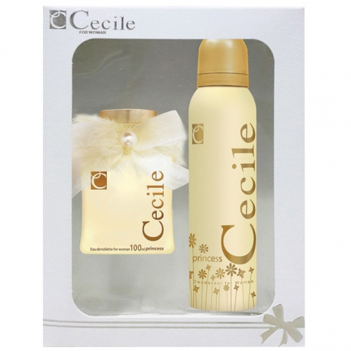 Cecile - Cecile Princess Parfüm ve Deodorant Seti