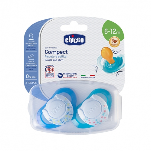 Chicco - Chicco Physio Compact Small and Slim Emzik 6-12m