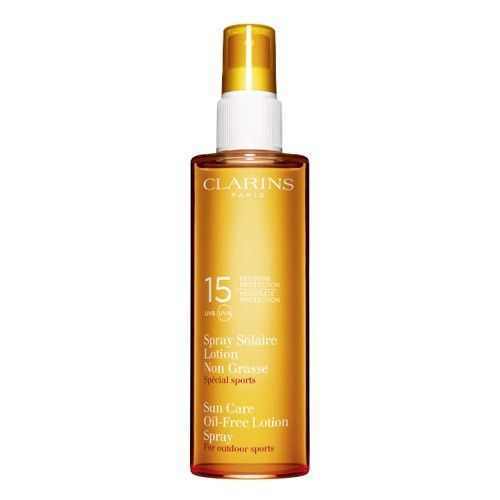 Clarins - Clarins Sun Care Oil Free Lotion Spray UVB-UVA15 150ml