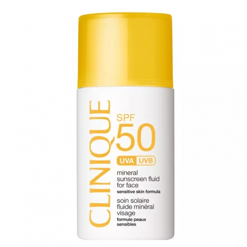 Clinique - Clinique SPF 50 Mineral Sunscreen Fluid For Face 30 ml