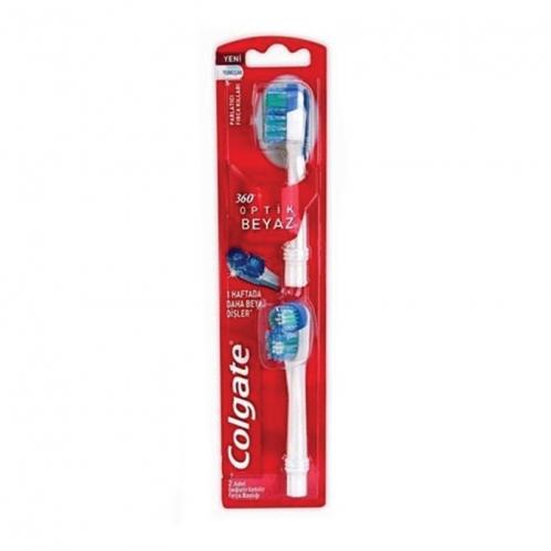 Colgate - Colgate Pilli 2li Değiştirilebilir Fırça Başlığı