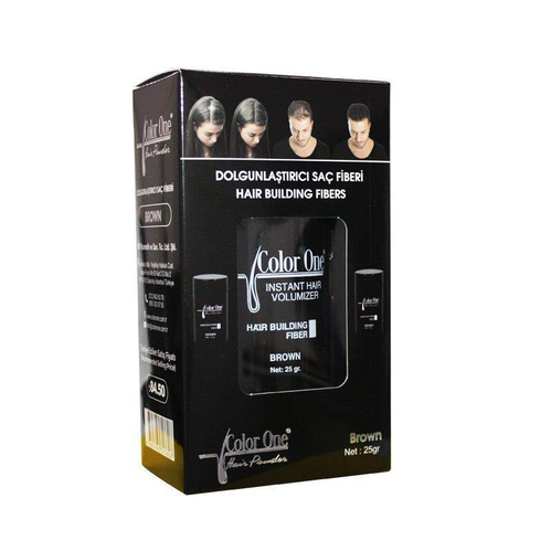 Color One - Color One Hair Building Fibers 25 gr Brown