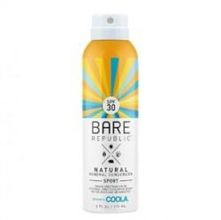 Coola - Coola Bare Republic Spf30 Mineral Sunscreen Sport Spray 177ml