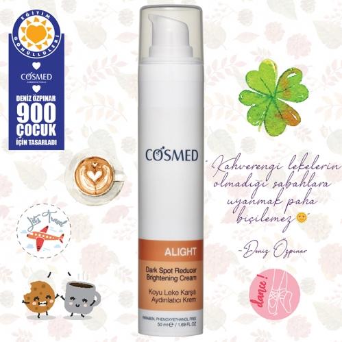 Cosmed Ürünleri - Cosmed Alight Dark Spot Reducer Brightening Cream 50ml-