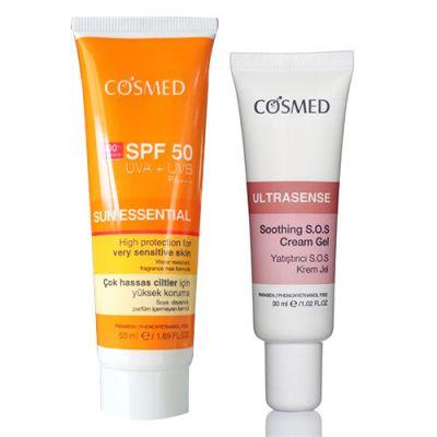 Cosmed Sun Essential Spf50 Çok Hassas Ciltler için SET