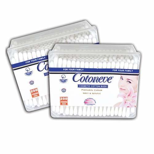 Cotoneve - Cotoneve Kare Kutu Kulak Çubuğu 200'lü