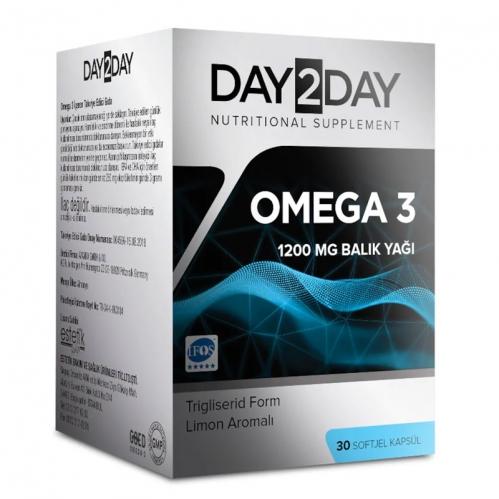 Day2Day - Day2Day Omega 3 Takviye Edici Gıda 30 Kapsül