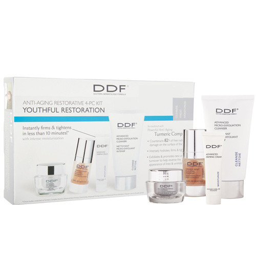 DDF - DDF Youthful Restoration Anti-Aging SkinCare Kit