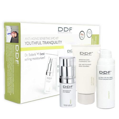 DDF - DDF Youthful Tranquility Anti-Aging Sensitive SkinCare Kit