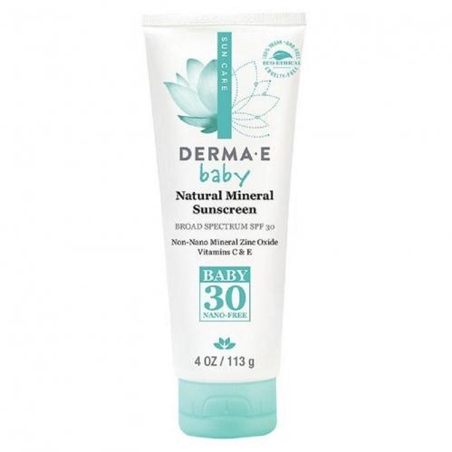 Derma E - Derma E Baby Natural Mineral Sunscreen SPF30 113gr