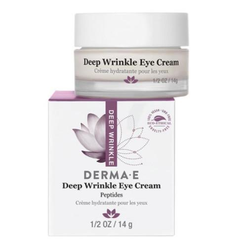 Derma E - Derma E Deep Wrinkle Peptide Eye Creme 14gr