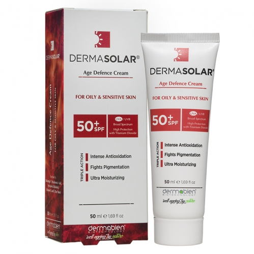Dermabien - Dermabien Dermasolar Age Defence Cream SPF50+ 50ml