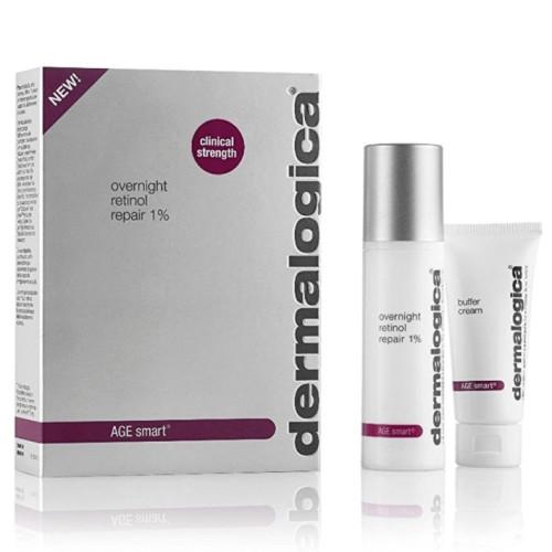 Dermalogica - Dermalogica Overnight Retinol Repair 1% 25ml + Buffer Cream 15ml