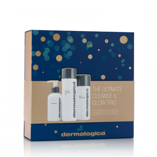 Dermalogica - Dermalogica The Ultimate Cleanse and Glow Trio SET
