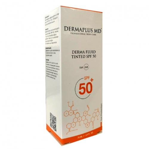 DermaPlus Md - Dermaplus Derma Fluid Tinted Spf50 60ml