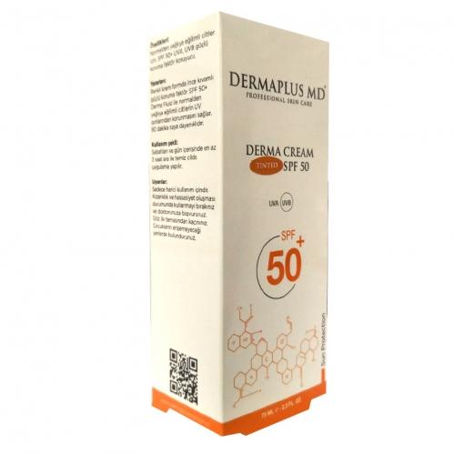 DermaPlus Md - Dermaplus MD Derma Cream Tinted SPF50+ 75ml
