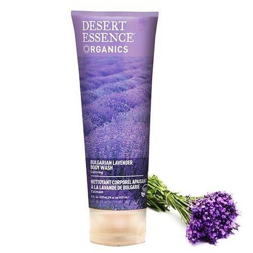 Desert Essence - Desert Essence Bulgar Lavantası Özlü Organik Duş Jeli 237ml