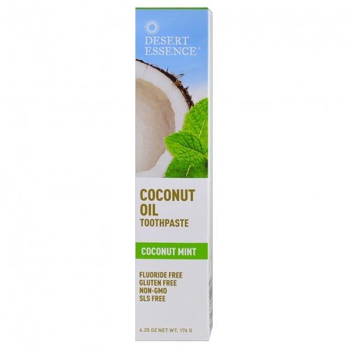 Desert Essence - Desert Essence Coconut Oil Toothpaste 176gr