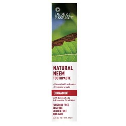 Desert Essence - Desert Essence Doğal Çay Ağacı ve Tesbih Ağacı ve Tarçın Özlü Diş Macunu 176GR