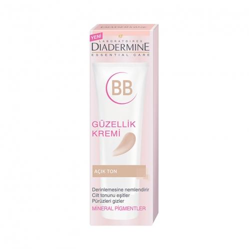 Diadermine - Diadermine Essential Care BB Güzellik Kremi Açık Ton 50 ml