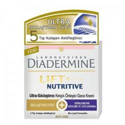 Diadermine - Diadermine Lift+ Nutritive Gece Bakım Kremi 50ml