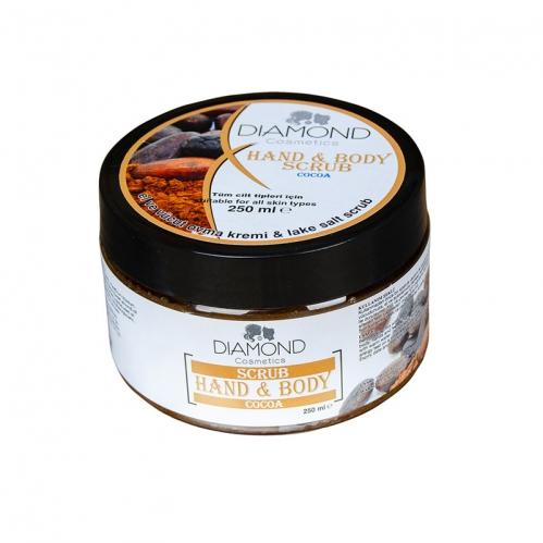 Diamond - Diamond Scrub Kakao El ve Vücut Kremi 250 ml