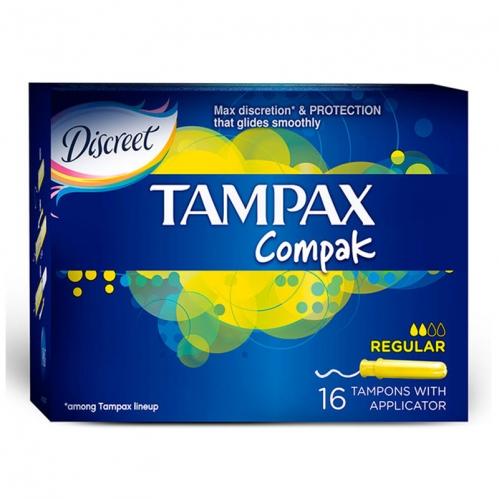 Discreet - Discreet Tampax Compak 16 Tampon