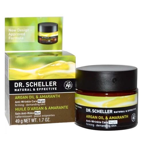 Dr.Scheller - Dr Scheller Argan Oil & Amaranth Anti-Wrinkle Care Night Firming 50 ml