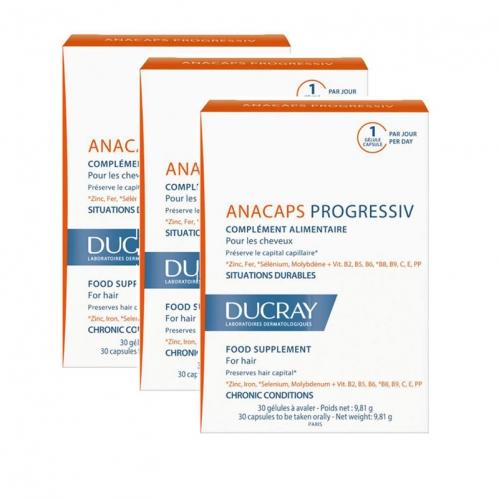 Ducray - Ducray Anacaps Progressiv 30 Kapsül | 3 Al 2 Öde