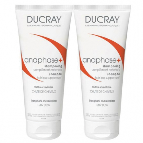 Ducray - Ducray Anaphase +Plus Shampoo 2 x 200ml