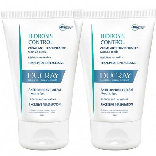 Ducray - Ducray Hidrosis Control Creme Anti-Transpirante 2x50 ml