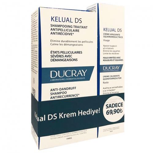 Ducray Ürünleri - Ducray Kelual Ds İnatçı Kepeğe Karşı Set
