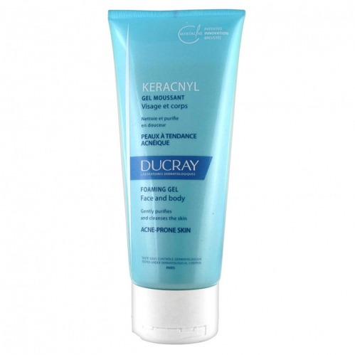Ducray - Ducray Keracnyl Foaming Gel 100ml - Seyahat Boy