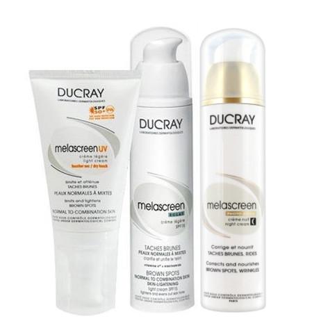 Ducray - Ducray Lekeye Eğilimli Ciltler için ve Yaşlanma Karşıtı Bakım Seti