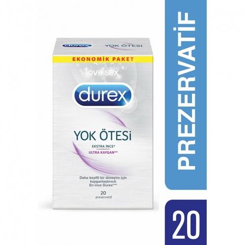 Durex - Durex Yok Ötesi Ekstra İnce 20li Prezervatif