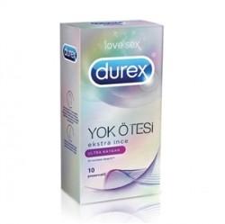 Durex - Durex Yok Ötesi Ultra Kaygan 10lu Prezervatif