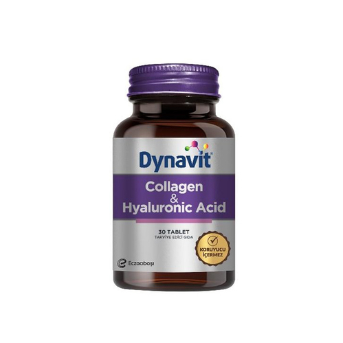 Dynavit - Dynavit Collagen+Hyaluronik Acid 30 Tablet